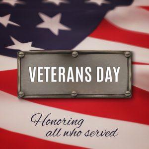 VERDIN Law - Happy Veterans Day