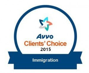 VERDIN Immigration Law, AVVO Client's Choice 2015